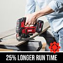 20V BRUSHLESS 25.4MM STROKE LENGTH JIGSAW, TOOL ONLY (RRP$199)