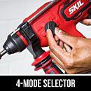4-mode selector