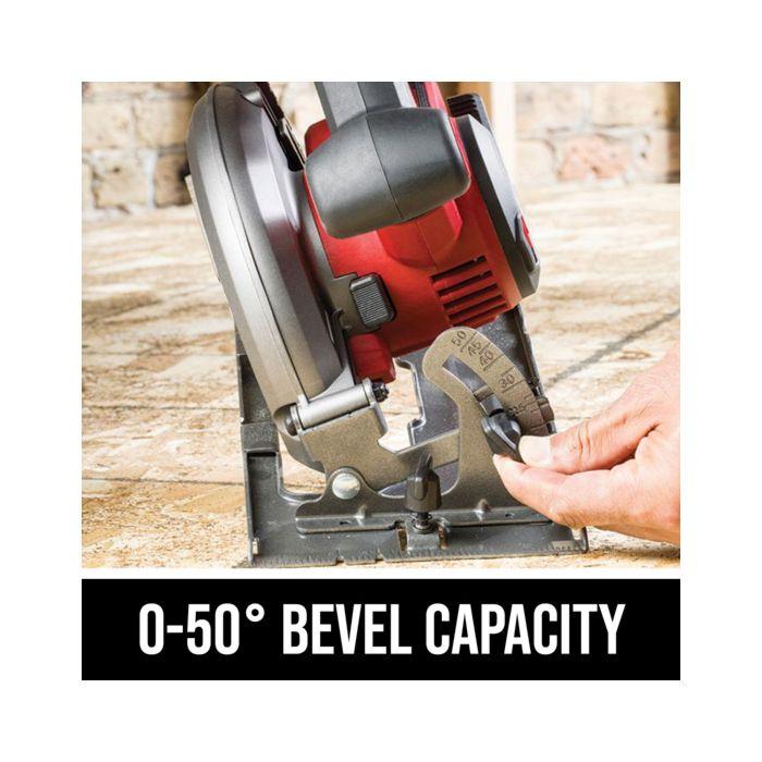0-50 degree bevel capacity