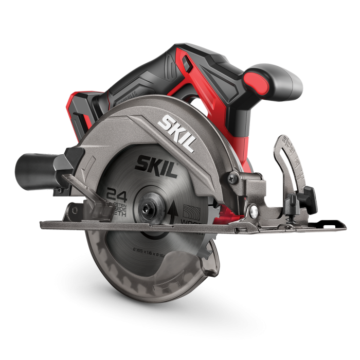20V BRUSHLESS 165MM CIRCULAR SAW, TOOL ONLY (RRP$229)