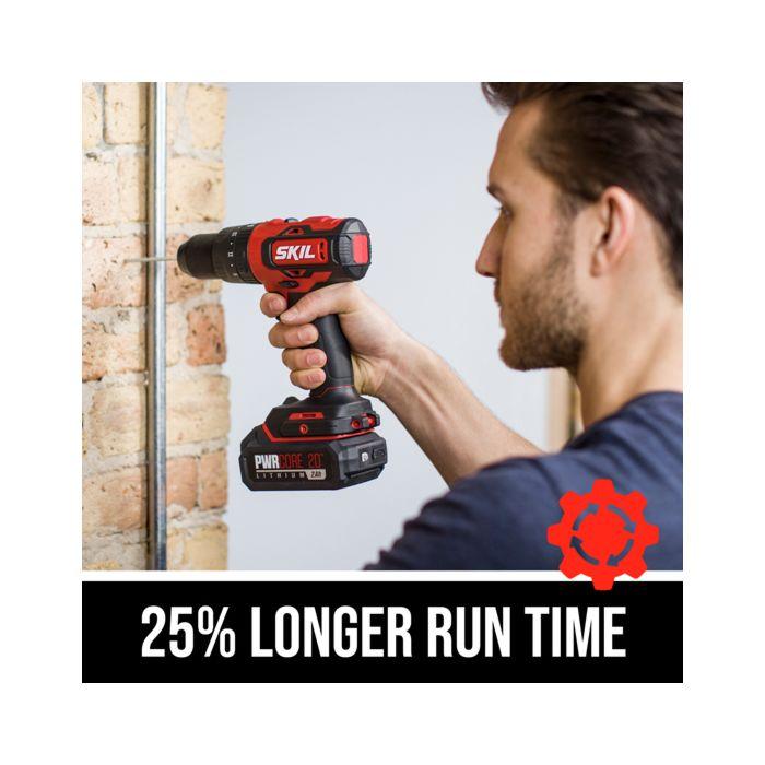 25% longer run time