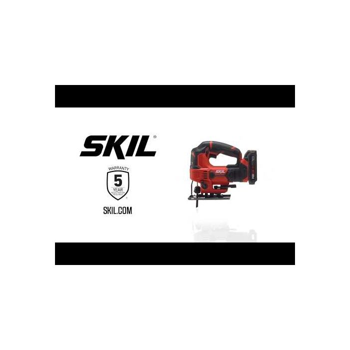 20V 22mm Stroke Length Jigsaw, Tool Only (RRP$109)