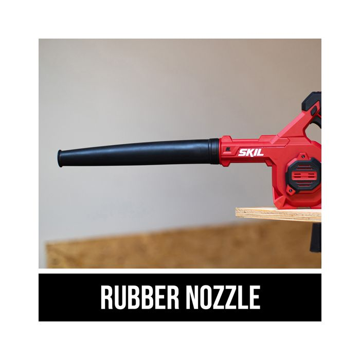 Rubber nozzle