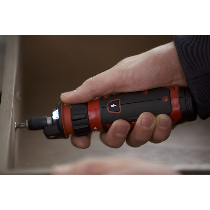 Rechargeable 4V Screwdriver with Circuit Sensor™ Technology (RRP$69)