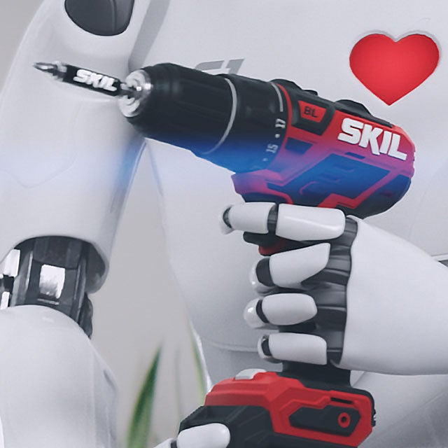 Skil Robot Holding Drill